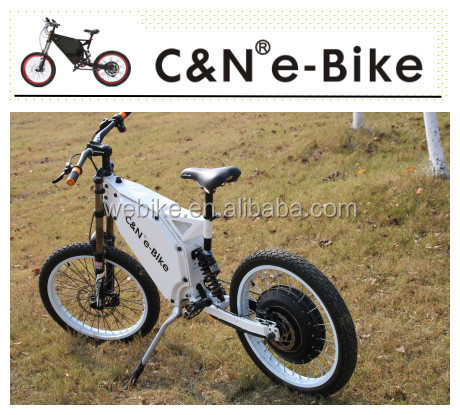72V8000W drill powered bike high power electric bike with lithium battery