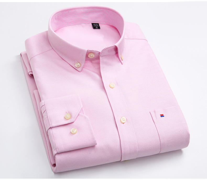 wholesale top brand names casual style no iron button down oxford men shirts