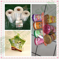 pof biodegradable tube chocolate packaging film