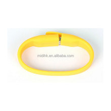 Promotional fashion Wrist Band Silicon bracelet usb, bracelet bulk 32gb usb flash drives
