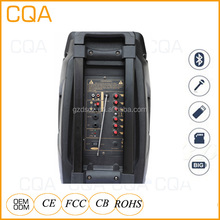 CQA amplifier speaker full range trolley speaker <strong>Portable</strong>,Wireless Special Feature and 1 Channel Speaker