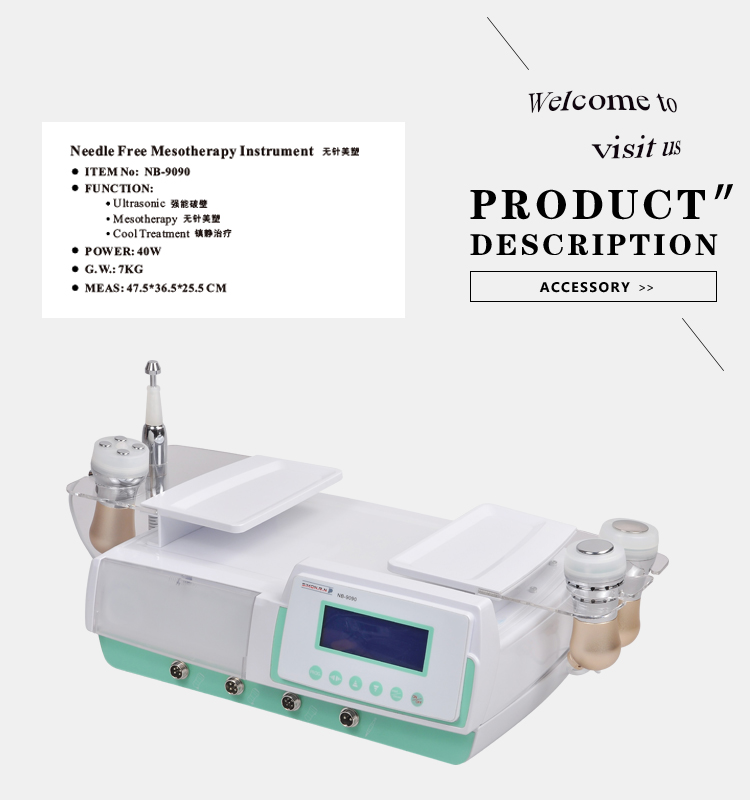 needle free mesotherapy instrument with OEM and ODM