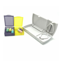Wholesale pill case /colorful plastic organizer pill box/ promotional pill cutter