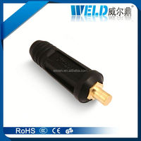 welding cable connector/jointer for tig torch, welding cable wire connector, spare parts for welding machines