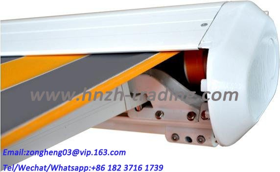 LED lamp arms cassette retractable awnings