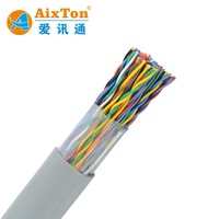 Outdoor Multi Pair Telephone Cable 2 20 50 100 300 Pairs Copper Conductor Filled Cable