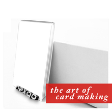 Ntag216 RFID blank white card for photo ID card printer