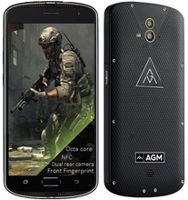 X1 rugged smartphone Qualcomm CPU Octa core Camera 13MP 64GB ROM Front Fingerprint 4G LTE NFC Android phone