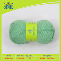 advantage price of 100% wool yarn hand knitting sweaters made in China