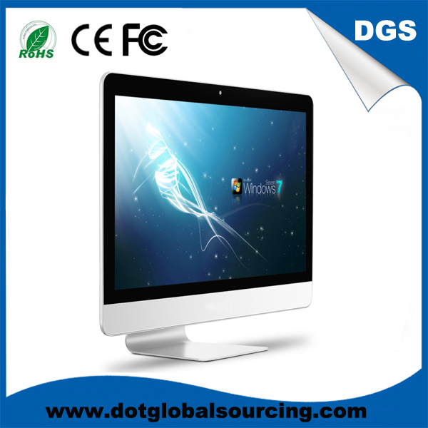 Factory price for Untra Thin 21.5 Inch LCD Metal Frame All in One PC/Desktop