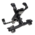 360 degree rotation universal car beck seat tablet mount car holder stand