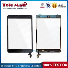 touch screen with home button assembly for iPad mini
