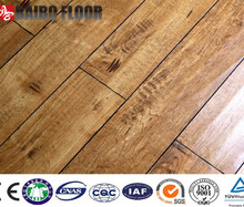 sealing Waxed 12mm HDF basketball flooring laminated
