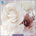 Hot selling new paper flower wall backdrop dancing flower for sale