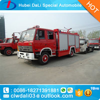 donfeng 4X2 4000L water pumper fire engine/water curtain fire fighting