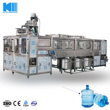 Light Weight 900bph 5 Gallon Barreled Bottle purified Water Filling Packing Machine / Production Line