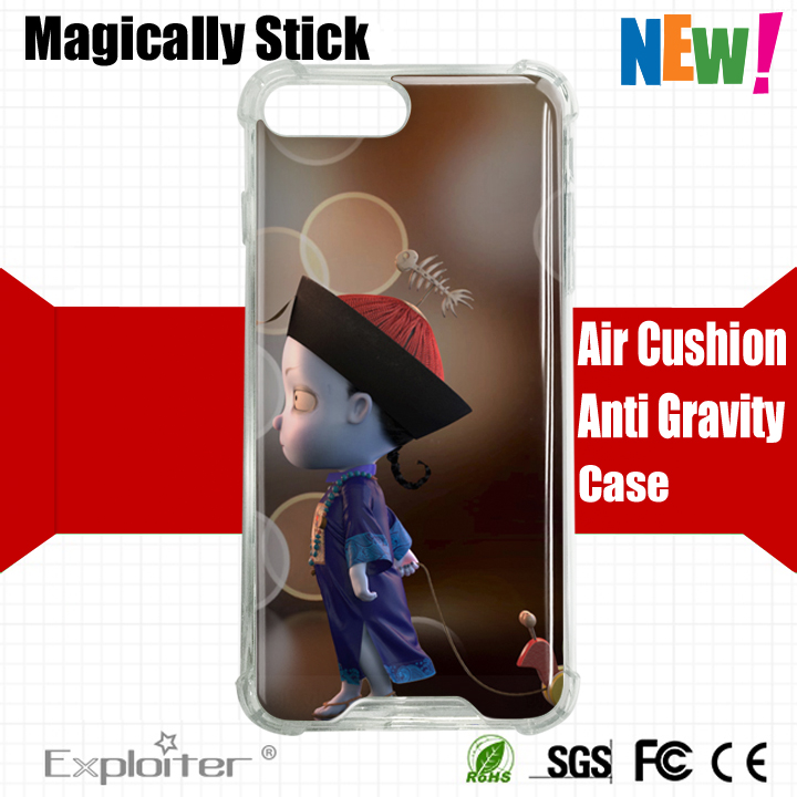 New arrivals mobile accessory hard pc soft acrylic tpu cell phone case cover for iphone 7 plus