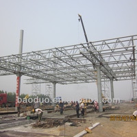 structural frame building light weight steel roof trusses prices