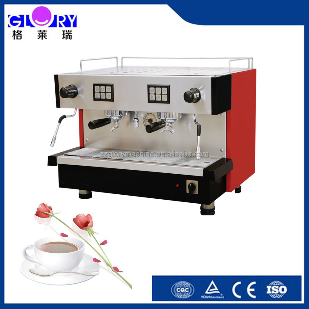 2016 Best Selling 2 Groups Italy Traditional Espresso Coffee Making Machine Commercial Italian Coffee Machine