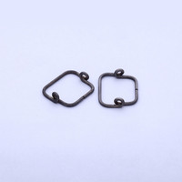 square shape metal wire forming spring