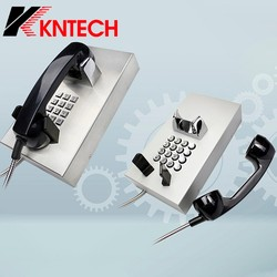 KNTECH Waterproof Telephone Set KNZD-05 Public Emergency Telephone for Building