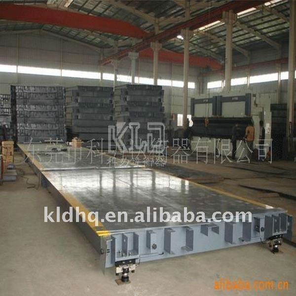 China Qualified Electronic Truck Weighing Scale Supplier