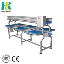 Fruit & vegetable processing machinery conveyor for fruit and vegetable