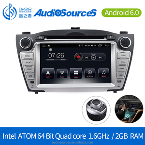 Android 6.0.1 Car DVD Player for Hyundai GPS Navigation System with Carplay Bluetooth Dual-zone Navi