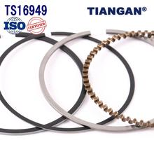 Engine spare parts gy6 motorcycle piston ring