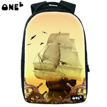 ONE2 design running fire proof military backpack for kid