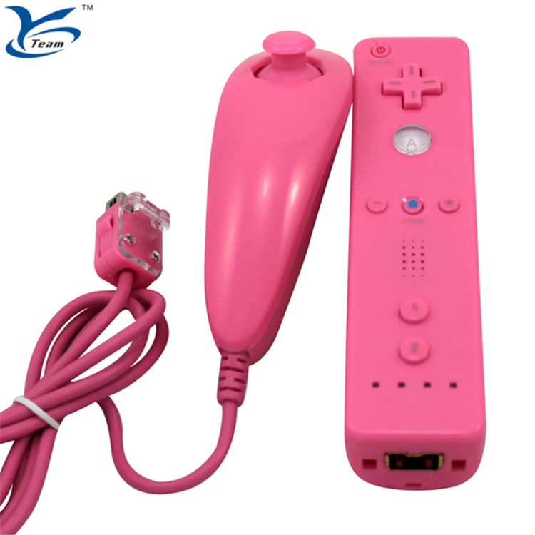 For Nintendo WII hand controller/game controller nunchuck&remote combo/controller for nintendo Wii with motion plus