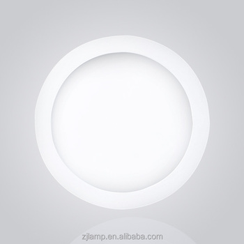 Cheap long life wide voltage white color round ceiling 24w panel led light
