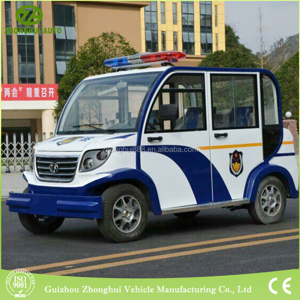 New condition Electric mini Patrol Car with 5 seats for sale