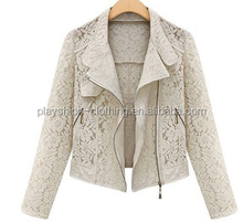 Women's clothing lace hollow out small shawl cardigan short coat 2015