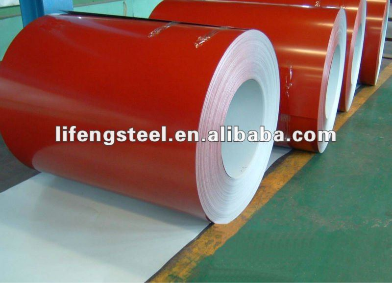 Pre-painted galvanized sheet metal roofing/colored corrugated metal roofing sheet