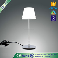 chrome Light Table Lamp Bedside Bed Room Reading Study