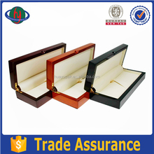 Custom handmade wooden fountain pen display box,elegant wooden pen box case from dongguan supplier