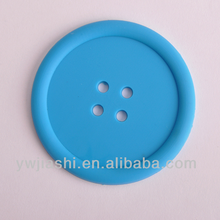Button shape Silicone Coffee Cup Mats, Silicone Cup Mat