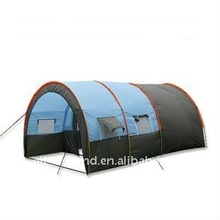 5 man 1 room 2 hall double layer family tent camping tent tunnel tent