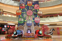 Hot sale animated indoor christmas decorations for shopping mall