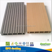 Wood plastic composite decking outdoor waterproof
