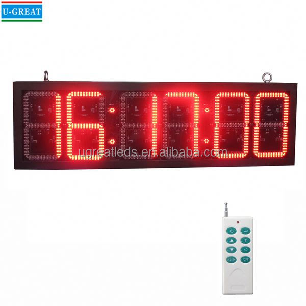 New products low price and good quality led timer countdown signage