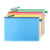 Fudek quick delivery best price transparent clear mesh pvc zipper ziplock document file bag