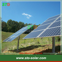 Outdoor Pole Ground Solar Energy Mounting Kits