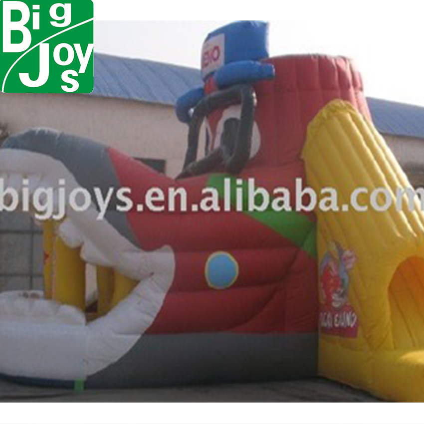 2010 shoe sliding inflatables