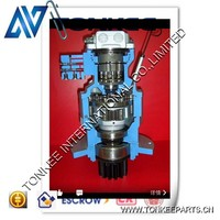 hydraulic spare parts swing motor, swing motor inner looking,swing motor and reduction gearbox inner looking