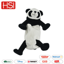 Large capacity school supplies zipper pen bag pouch for kids plush animal panda pencil case