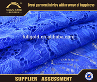 Wholesale net embroidery lace fabric for curtains design