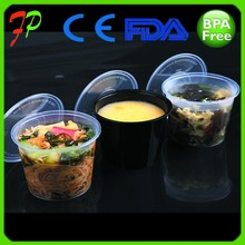 cylinder plastic food packaging box