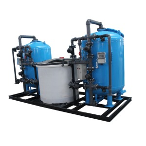 Commercial and Industrial Automatic Twin Water Softening Plant